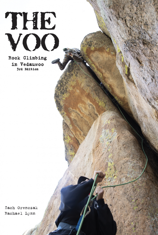 Vedauwoo Climbing Guidebook Cover
